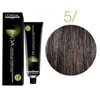 Краска для волос INOA-mix L'Oreal Pro 60 g  5 Светлый шатен