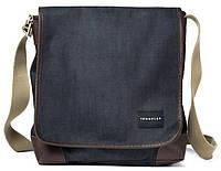 "Отличная сумка с карманом для лэптопа 9,7"" Crumpler Betty Blue Sling (dark denim/earth brown) BEBS-001 графит/"
