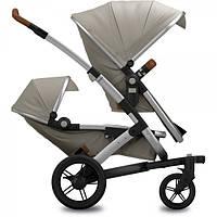 JOOLZ GEO TWIN коляска для двойни 2в1 EARTH Elephant Grey,