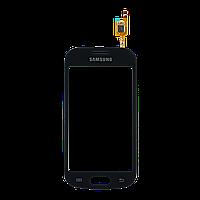 Тачскрин (сенсор) Samsung S7390 ORIG, black (черный)