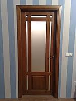 Двери межкомнатные из натурального дерева (сосна)