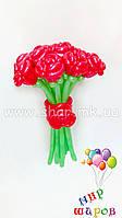 Шикарный букет из 11 красных роз