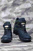 Ботинки Ультра нубук с тканью