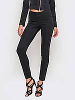 Жіночі легінси з високою посадкою з задніми кишенями, тканина микродайвинг 90001, фото 1
