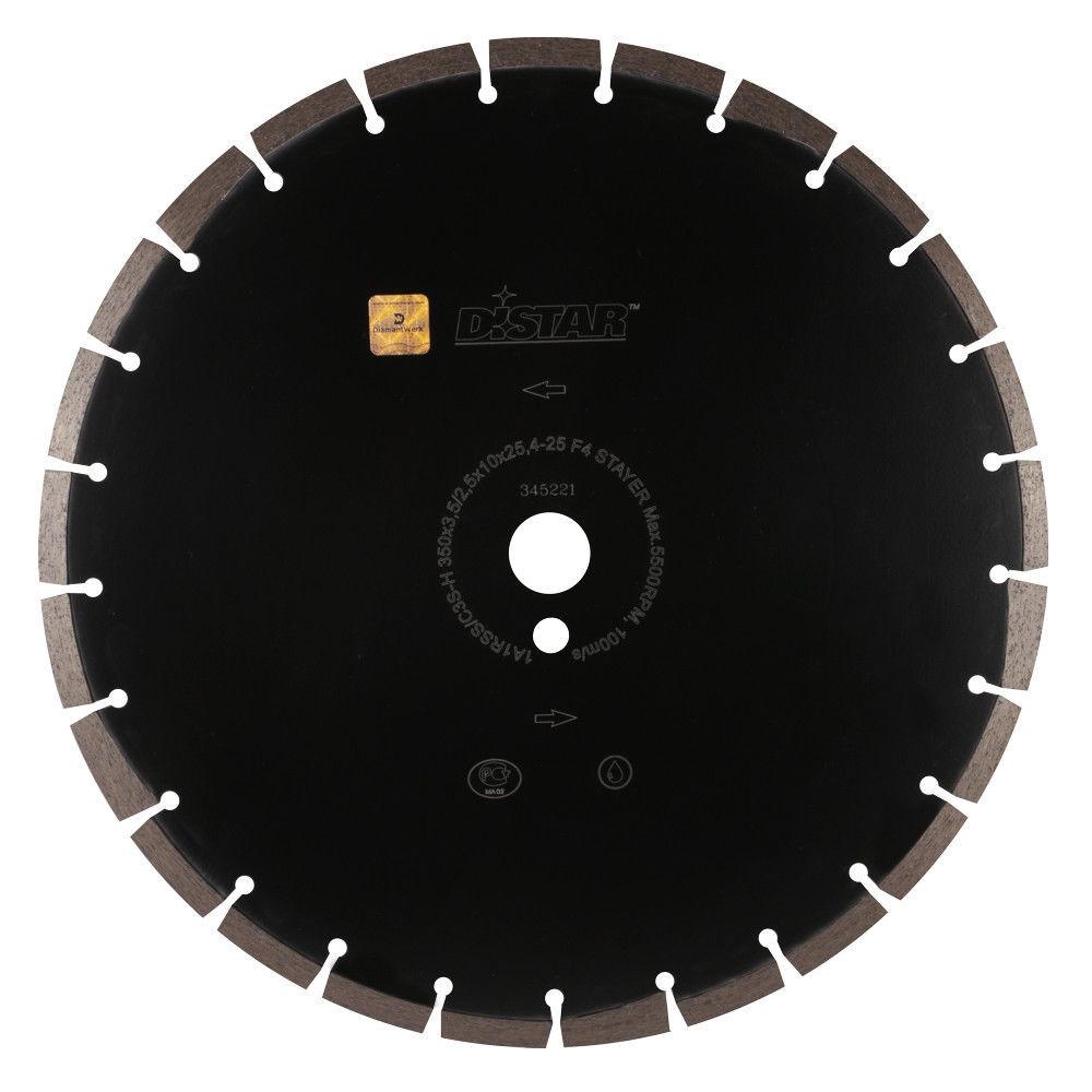 Алмазный отрезной круг Distar 1A1RSS/C3S 350x3,5/2,5x10x25,4-11,5-25/5 Hit Stayer