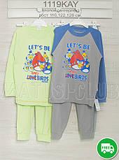 Пижамы детские 128см, хлопок-интерлок,  хлопок-интерлок, 2215инк, в наличии 116,122,128  Рост, фото 3