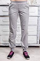 Ariona Спортивные штаны светло-серые меланж
