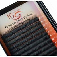 Ресницы на ленте (20шт.) I-Beauty mix C-0.10 (8-14)мм
