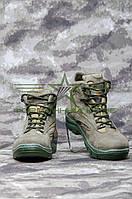 Ботинки Ультра нубук с тканью ATACS-FG, фото 1