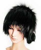 """""""Сноп"""" из меха чернобурой лисицы чёрного цвета"""