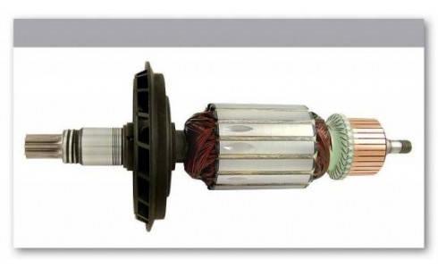 Якорь перфоратор Bosch GBH 7 оригинал 1614010213 ( 211*46,5 8-з прямо), фото 2
