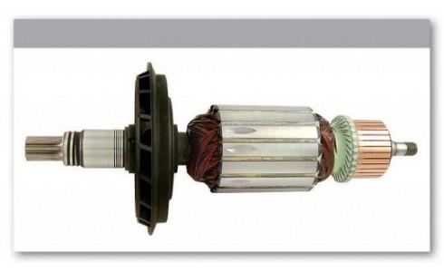 Якорь перфоратор Bosch GBH 7 оригинал 1614010213 ( 211*46,5 8-з прямо)