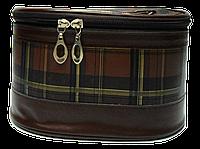 Удобная женская косметичка коричневая CG00002