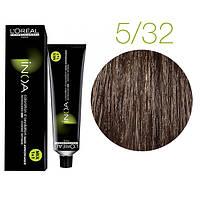 Краска для волос INOA-mix L'Oreal Pro 60 g  5.32 Светлый шатен золотистый перламутровый