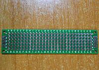 Плата монтажная двухсторонняя 0,254 2х8см