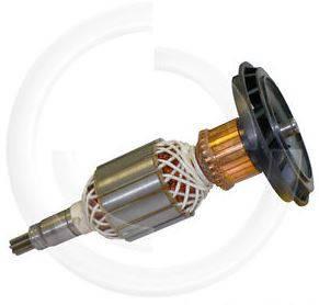 Якорь отбойный молоток Bosch 11E оригинал 1614011072 ( 208*54 7-з прямо), фото 2