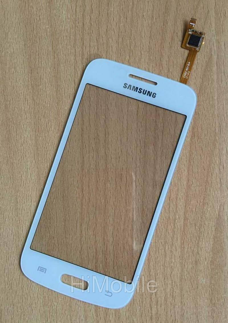 Сенсор тачскрин Samsung G350e Galaxy Star Advance Duos белый Оригинал