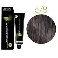 Краска для волос INOA-mix L'Oreal Pro 60 g 5.8 Светлый шатен мокка