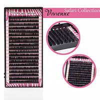 Ресницы черные Safari Collection один размер 20 ЛИНИЙ 0,1 C 8