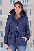 TM Ozze Куртка женская парка весенняя 8 синяя OZZE
