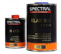 Лак бесцветный SPECTRAL KLAR 505 (VHS) 3+1 +отвердитель Н6115  (1л+0.33л)