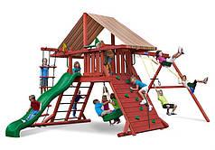 Дитяча мульти-майданчик з дерева OMEGA Woodom