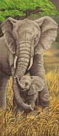 Схема для вышивки бисером Слоны