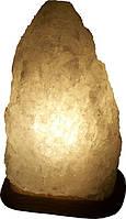 Бахмут Соляной светильник Скала 6 - 8 кг обычная лампа