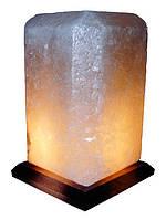 Бахмут Соляной светильник Прямоугольник 4 - 5 кг обычная лампа