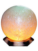 Бахмут Соляной светильник Шар 6 - 7 кг цветная лампа