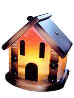 Бахмут Соляной светильник Домик 5 - 6 кг цветная лампа