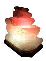 Бахмут Соляной светильник Кораблик 2-3 кг цветная лампа