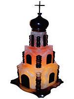 Бахмут Соляной светильник Церковь 15 кг цветная лампа