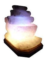 Бахмут Соляной светильник Кораблик 2-3 кг обычная лампа