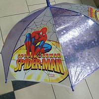 Зонт детский человек паук