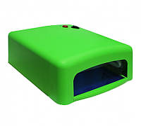 УФ лампа для сушки геля, гель-лака на 36 Вт, зеленая