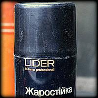 Lider Аэрозоль - жаростойкий  черный 400 мл, фото 1