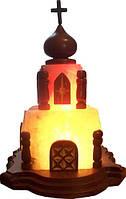 Бахмут Соляной светильник Церковь 4-5 кг цветная лампа