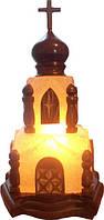 Бахмут Соляной светильник Церковь 4-5 кг обычная лампа