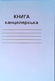 Книга канцелярська А4 96 аркушів Бріск лінія