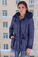 TM Ozze Куртка женская парка весенняя 3 синяя OZZE