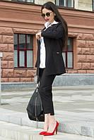 ТМ Ghazel Костюм женский Офис черный Ghazel