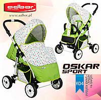Прогулочная коляска Adbor Oscar Sport kropki-04
