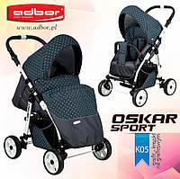 Прогулочная коляска Adbor Oscar Sport kropki-05