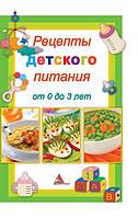 Рецепты детского питания от 0 до 5 лет