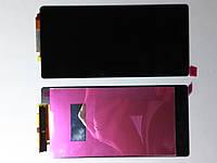 Дисплей  (экран) Sony Xperia Z2, D6502, D6503 с сенсором черный high copy.