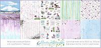 Набор бумаги Магия Творчества - Лаванда, 30,5x30,5 см, 10 листов