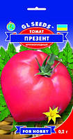 Семена томат Презент H=0,8-1 м. 600-800 г.