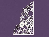 Чипборд от Магия творчества - Фоновый шестеренки, размер 11,5x7 см, 1 шт