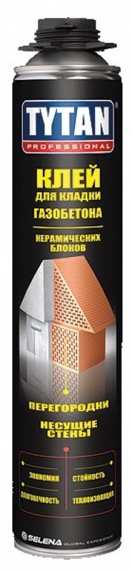 Клей для Газобетона и Керамических блоков Tytan Professional 750 ml.